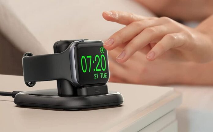 Sixmas Apple Watch Magnetic Wireless Charging Stand