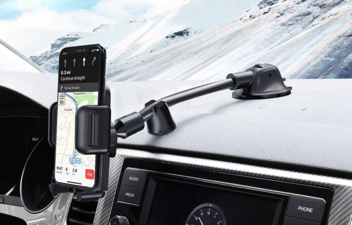 Wowteez Dashboard Windshield Car Phone Holder