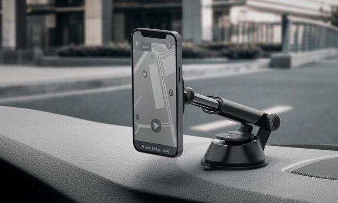 Spigen's OneTap Pro MagSafe Dashboard Car Mount